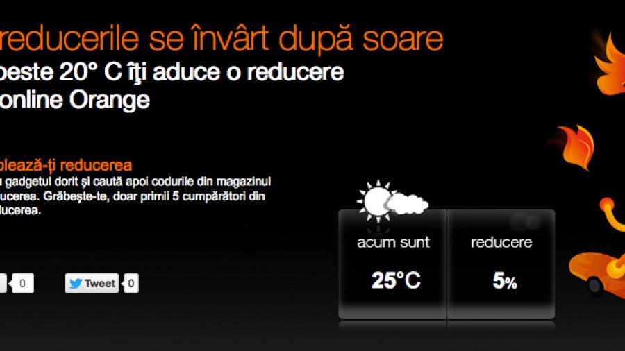 Nice online personalization from Orange