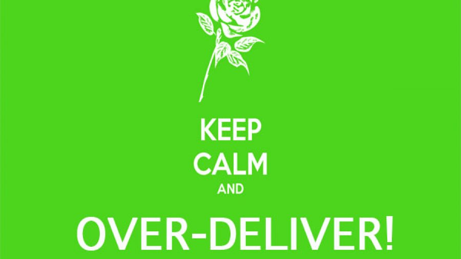 """2 ways to respect the """"Under promise, over deliver"""" principle online"""