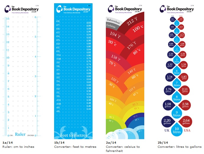 book depository bookmarks