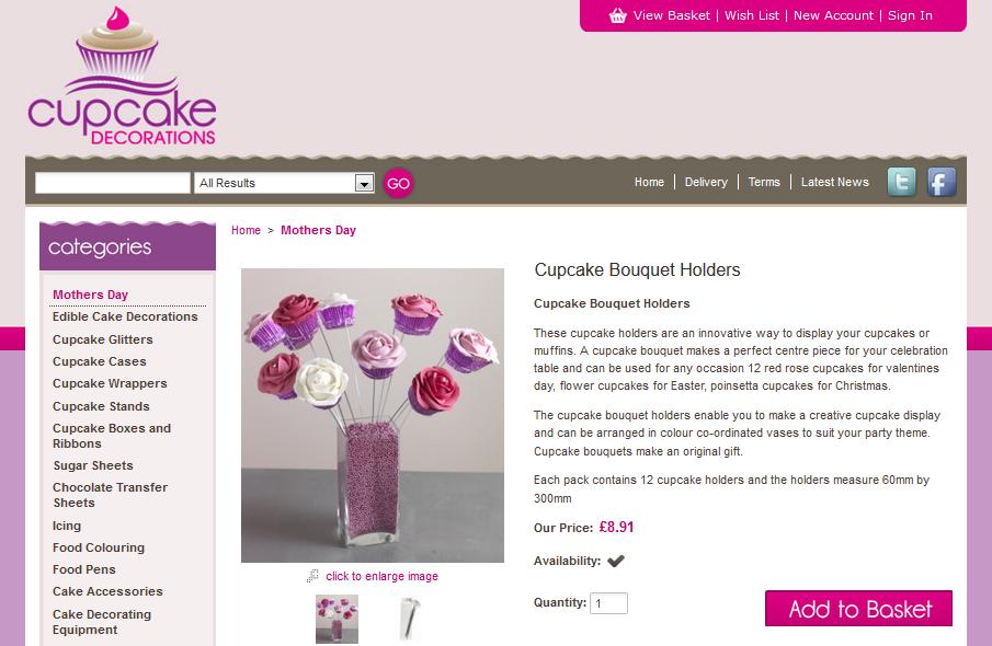 Cupcakedecorations