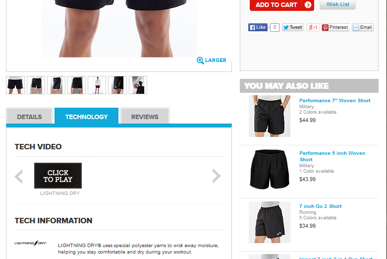 great product pages