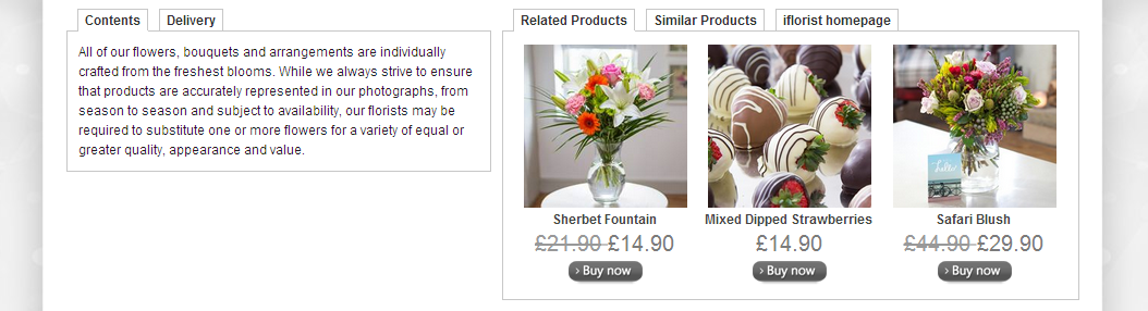 a good product page
