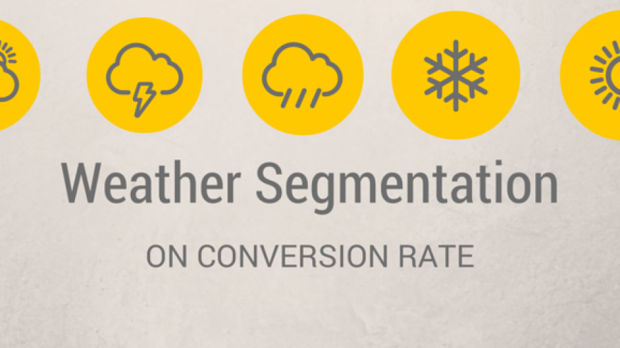 Smart CRO Techniques You Haven't Used Before: Weather Segmentation
