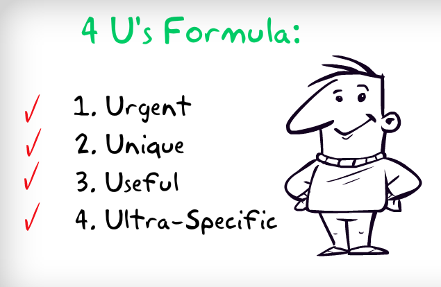 The 4Us headlines formula