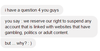 Question via Facebook
