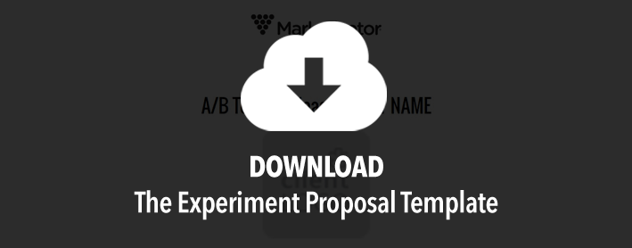 Experiment proposal template