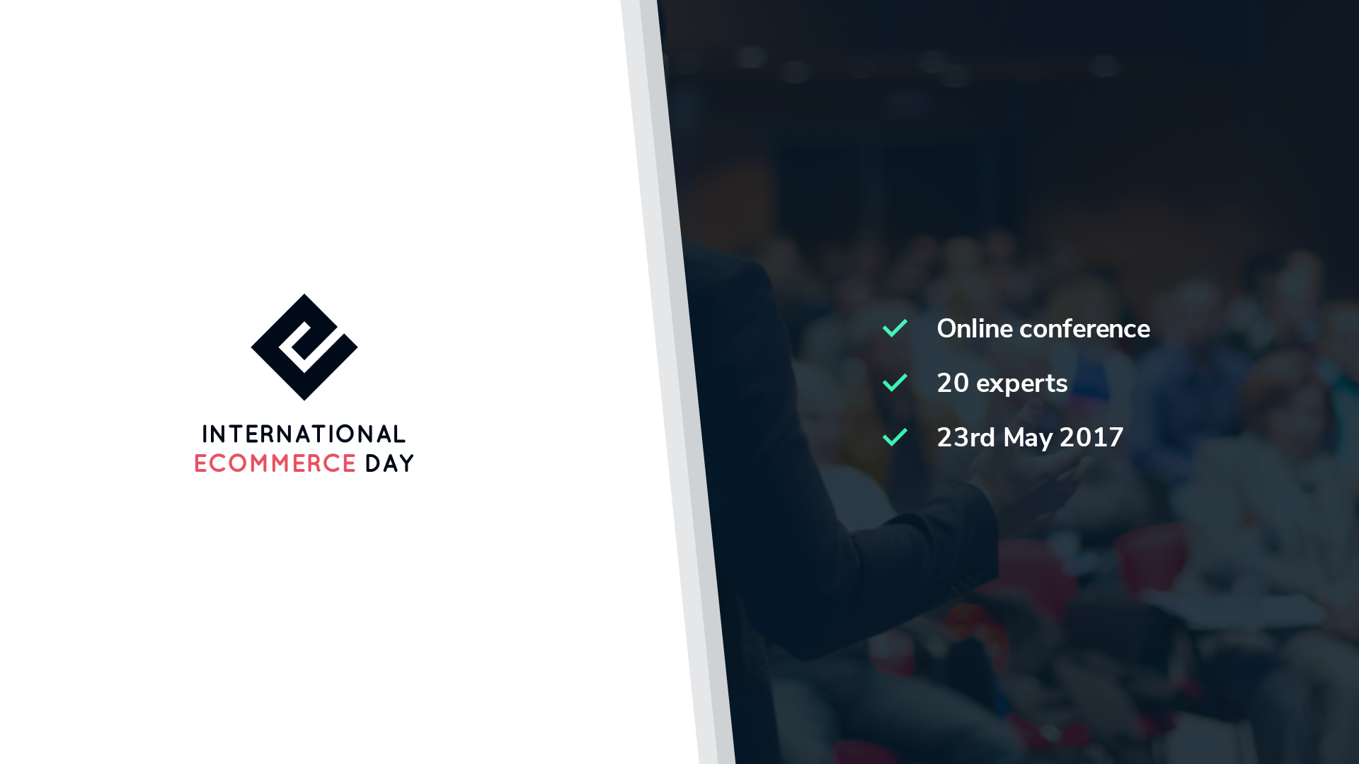 If you want to grow your business join the International Ecommerce Day
