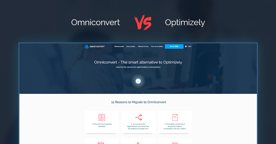 Looking for an alternative to Optimizely? Here are 12 reasons to migrate to Omniconvert