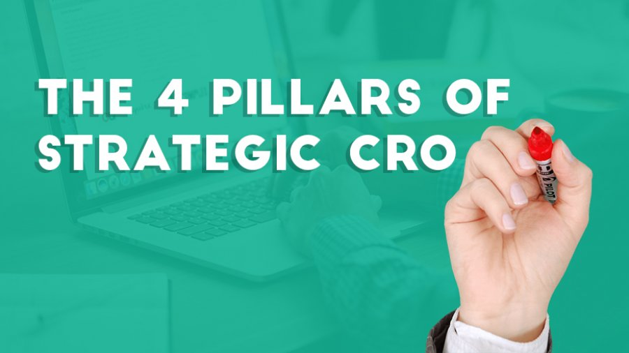The four pillars of CRO strategy by Paul Rouke