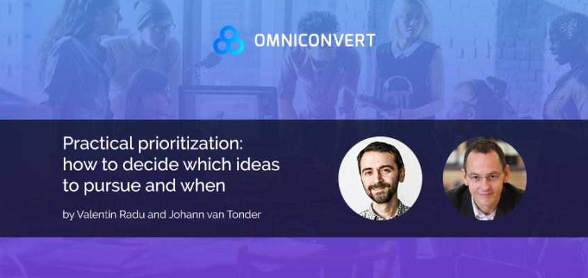 Practical CRO Prioritization with Johann van Tonder