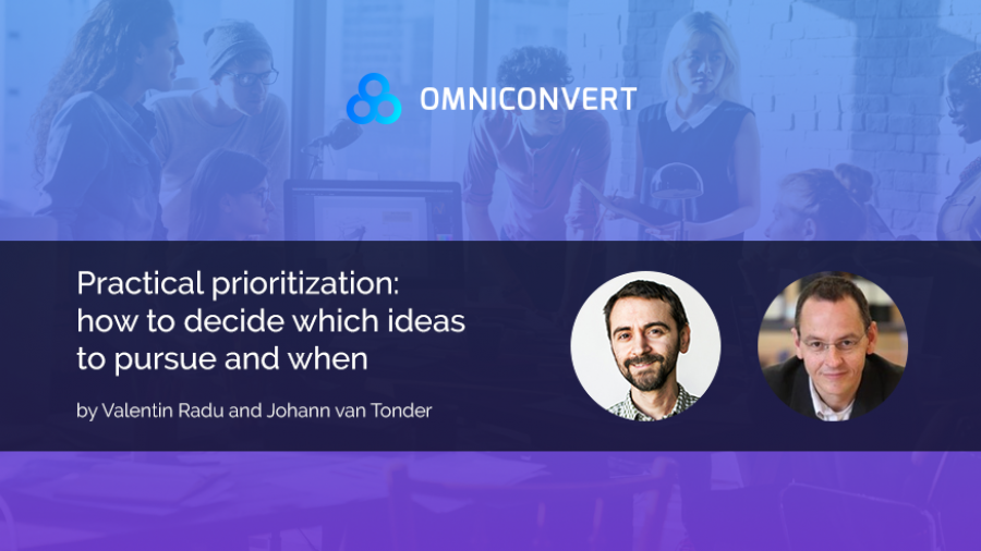 Practical CRO Prioritization with Johann van Tonder