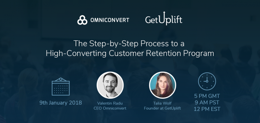 Free webinar: The Step-by-Step Process to a High-Converting Customer Retention Program