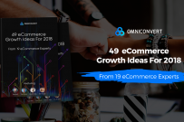 eCommerce in 2018: grow-or-die – 49 Growth ideas ebook