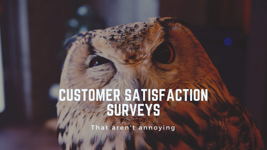 How to Create Customer Satisfaction Surveys That Aren't Annoying