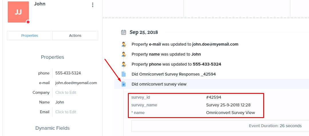 survey viewed