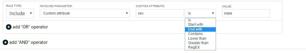 customer attributes uses